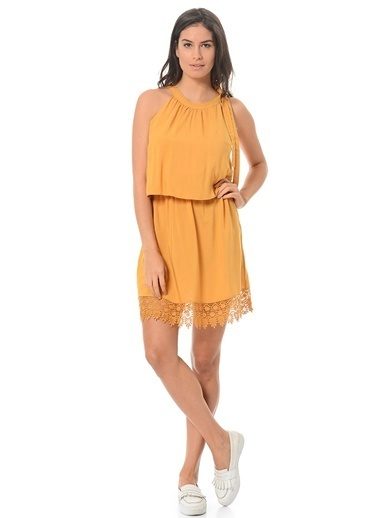 Only Elbise Sarı